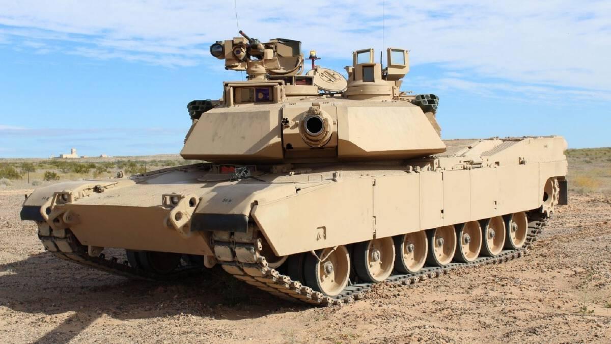 รถถัง M1 ที่ใช้ในการรบในสมรภูมิอิรัก