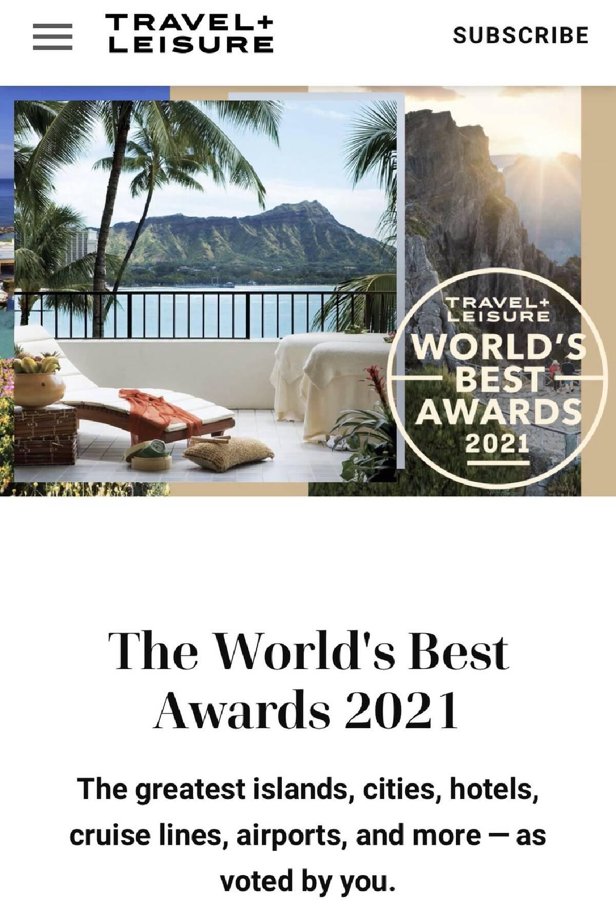 """""""เกาะสมุย"""" อันดับ 7 เกาะที่ดีสุดของโลก"""
