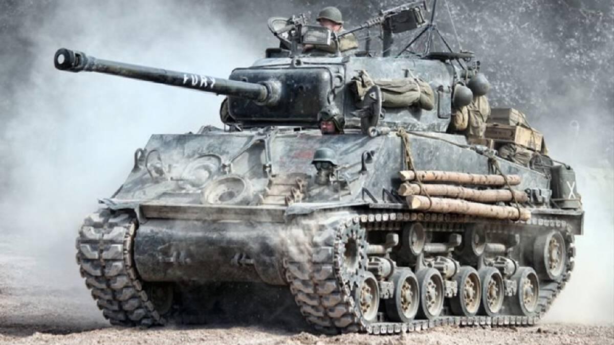 รถถัง M4 Sherman ของสหรัฐฯที่ใช้ในการต่อกรกับเยอรมนี