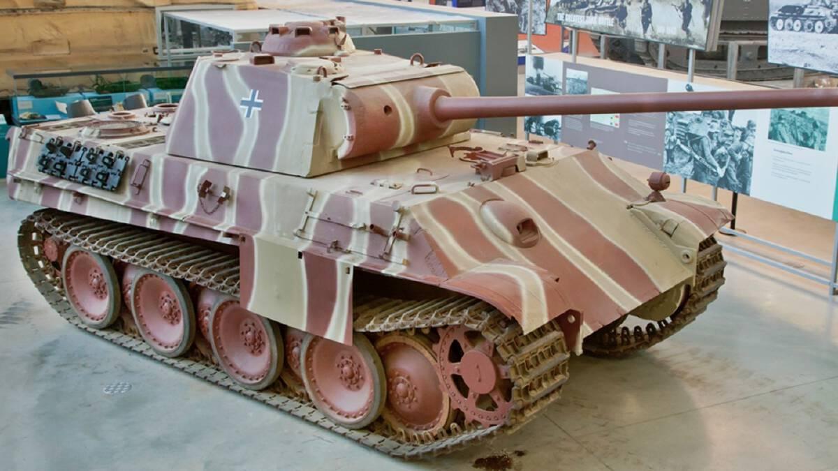 รถถัง Panther ยานเกราะขึ้นชื่อของเยอรมนีในยุคสงครามโลกครั้งที่ 2