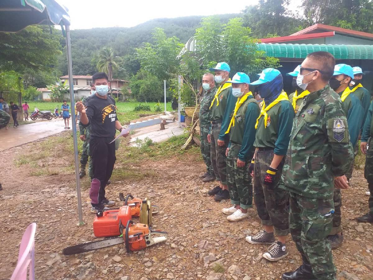 บูรณาการทหาร ข้าราชการ ฟื้นฟูช่วยเหลือผู้ประสบภัย