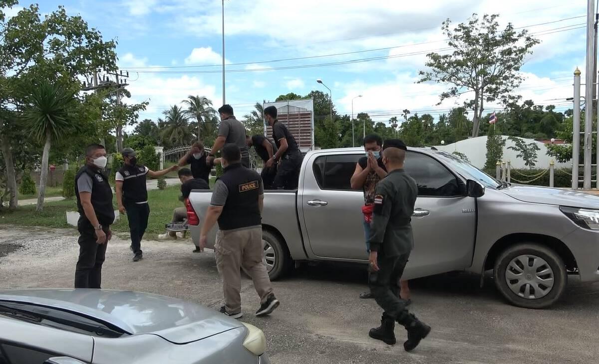 จับ 5 ตำรวจปลอม ตระเวนข่มขู่เหยื่อกรรโชกทรัพย์