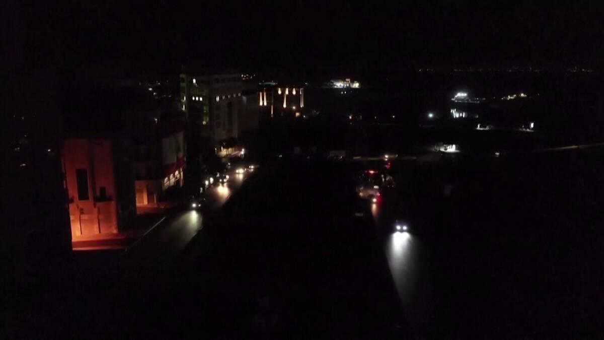 ไฟฟ้าเลบานอนหมดจริง ๆ  หยุดปั่นไฟทั้งประเทศ