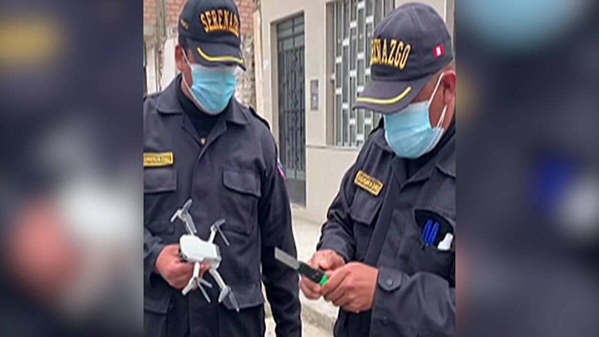 ตำรวจเปรูหัวใส ใช้โดรนช่วยชีวิตน้องนก