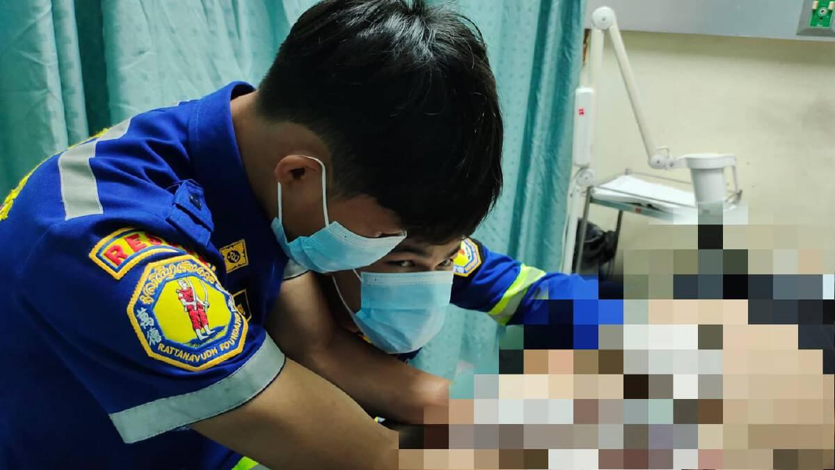 ผงะ! หนุ่มเมืองกาญจนบุรี ทำฝาเปิดขวดติดอวัยวะเพศ