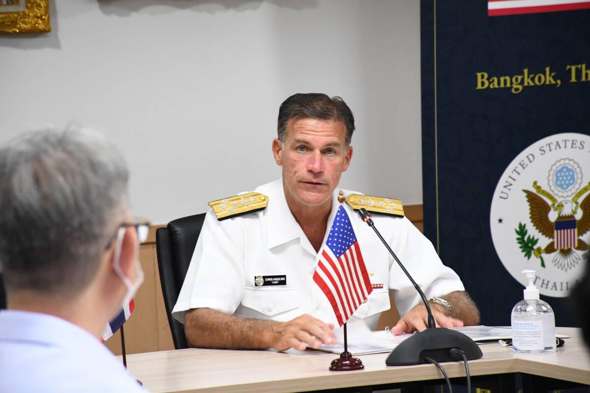 ผู้บัญชาการกองกำลังสหรัฐอเมริกา ภาคพื้นอินโด-แปซิฟิก เดินทางเยือนประเทศไทย