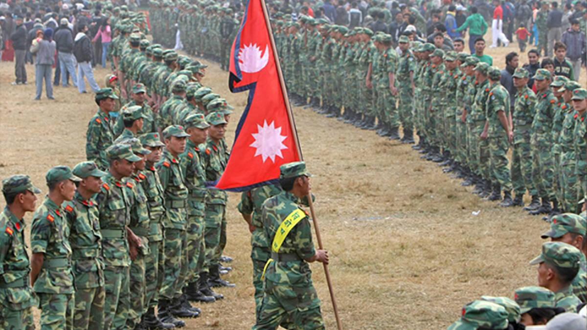 กองกำลังทหารของเนปาลภายใต้สงครามกลางเมืองเนปาล