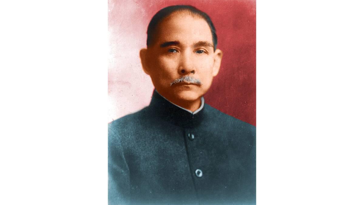 ดร.ซุนยัดเซ็น ผู้โค่นล้มราชวงศ์ชิง และนำจีนสู่ประชาธิปไตยในช่วงวาระหนึ่ง