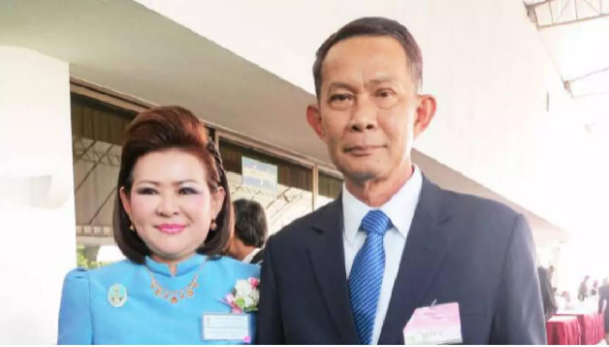 พล.อ.ปรีชา - นางผ่องพรรณ จันทร์โอชา