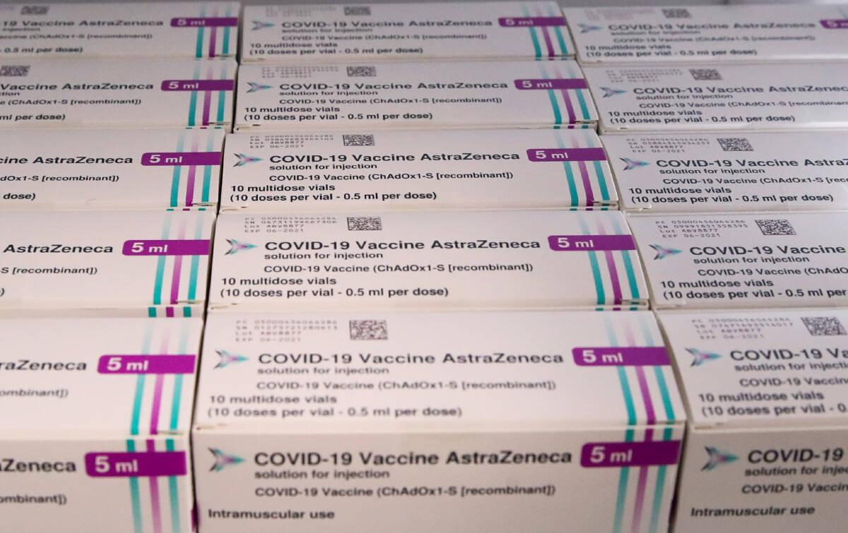 วัคซีนป้องกันโควิด-19 ยี่ห้อ AstraZeneca