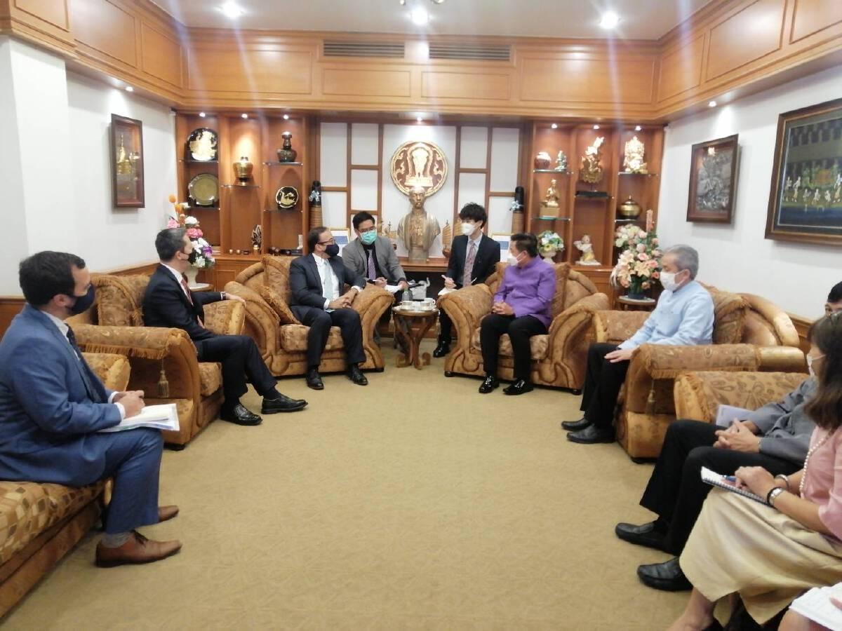 ทูตสหรัฐฯมั่นใจชาวอเมริกันแห่เที่ยวไทยหลังเปิดเมือง 1 พ.ย.นี้