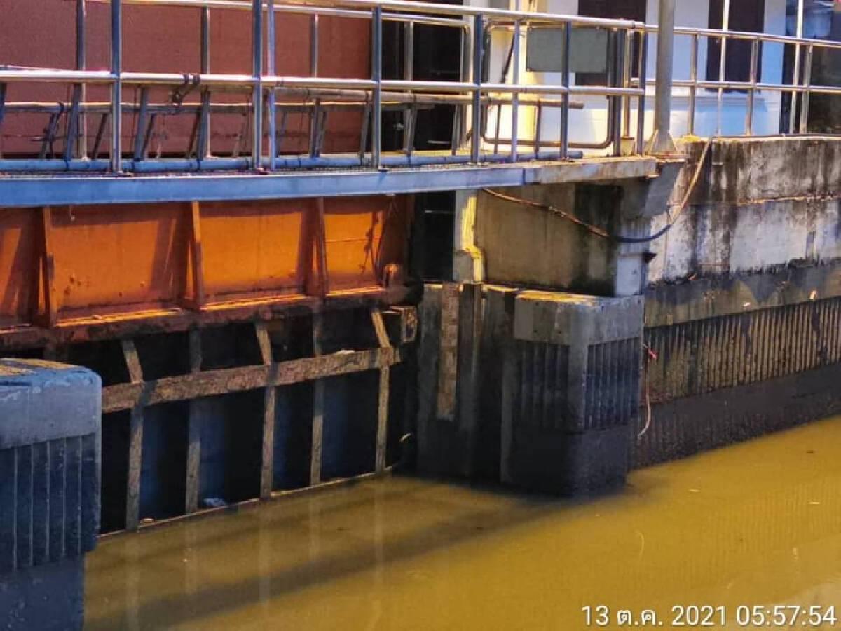 น้ำเหนือไหลผ่านแม่น้ำเจ้าพระยา ต่ำกว่าคันกั้นน้ำ 1.15 เฝ้าระวังต่อเนื่อง