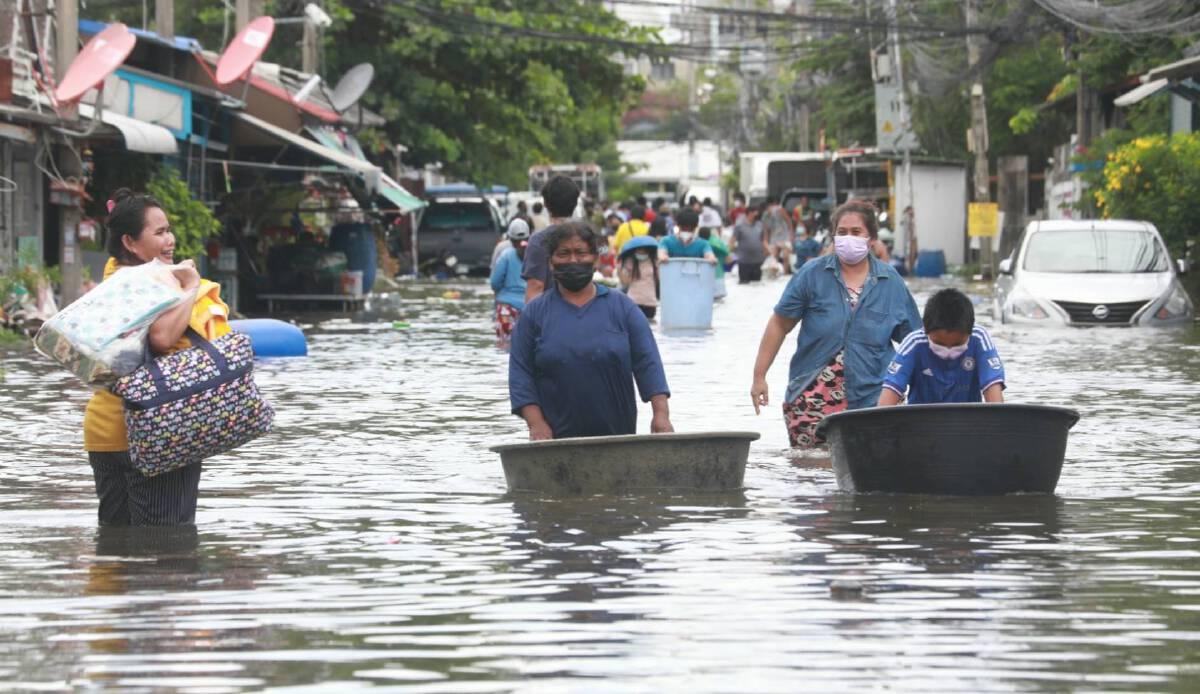 ลูกจ้าง ม.33 ว่างงานจากน้ำท่วม รับเงินทดแทนจากประกันสังคม 50%