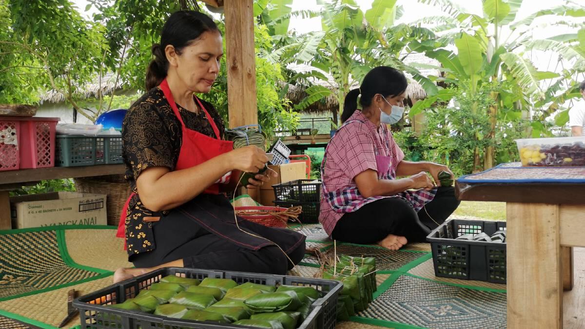 เปลี่ยนข้าวต้มมัดธรรมดา มาเป็นข้าวต้มมัดธัญพืช