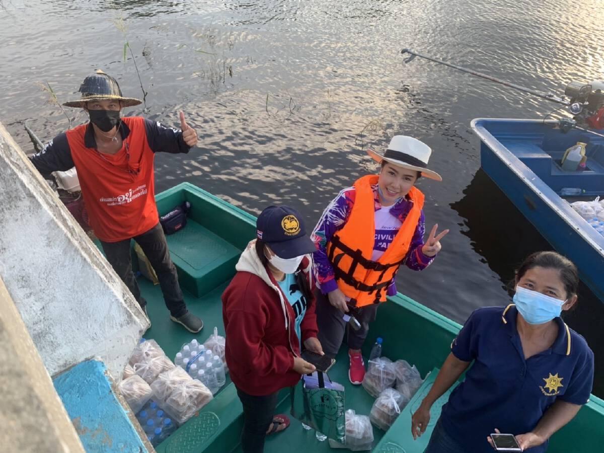 รองหัวหน้าพรรคไทยศรีวิไลย์ ชี้ น้ำท่วมทำความหวังชาวนาพังทลาย