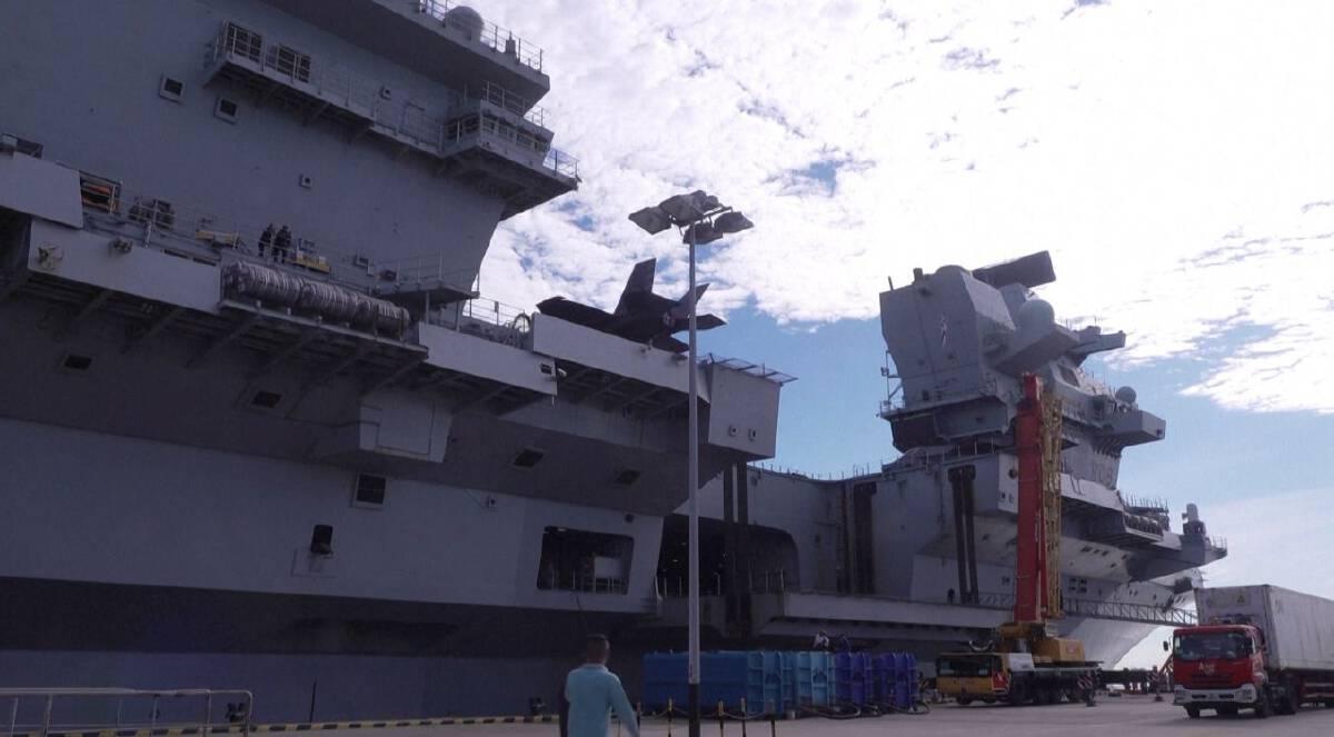 อังกฤษส่งกองเรือถึงสิงคโปร์ร่วมซ้อมรบ เสริมปักหมุดเอเชีย