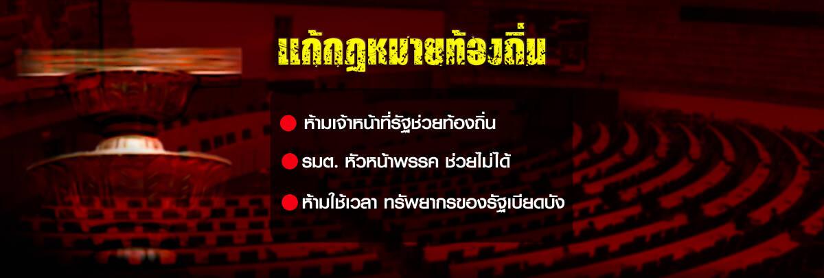 การเลือกตั้งท้องถิ่น และท่าทีของรัฐบาลพลเอกประยุทธ์