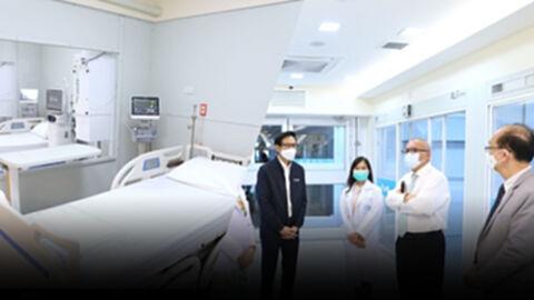 เตรียมพร้อมโรงพยาบาลสนาม ICU สำหรับผู้ป่วยโควิด-19 ระดับสีแดง