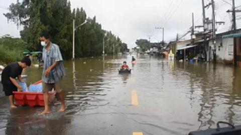 """สภาพอากาศวันนี้ อีสาน-ตะวันออก ฝนยังหนักถึงหนักมาก จากฤทธิ์ """"คมปาซุ"""""""