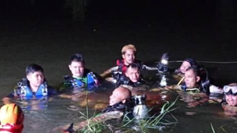 ยายพาลูกหลาน8 คน ไปเล่นน้ำท่วมถูกกระแสน้ำพัดจมหาย