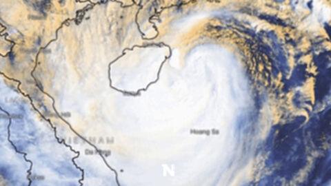 """เตือน""""พายุคมปาซุ"""" จ่อเข้าเวียดนาม สั่งเตรียมอพยพ 6 หมื่นชีวิต"""