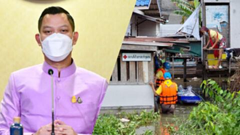 นายกฯ สั่งสำรวจความเสียหายน้ำท่วม เพื่อเตรียมงบช่วยเหลือประชาชน