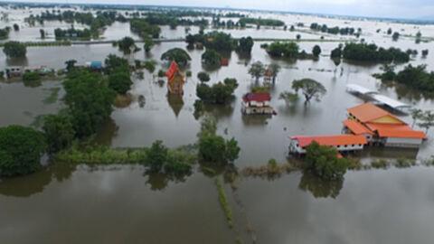 พื้นที่การเกษตรทั่วประเทศถูกน้ำท่วมเสียหายกว่า 3.9 ล้านไร่
