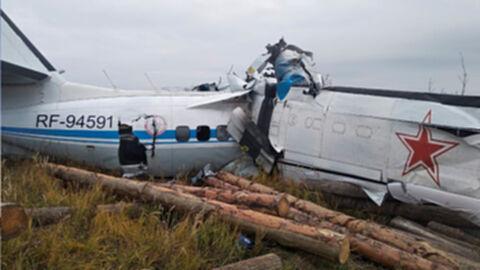 เครื่องบินรัสเซียตก นักกระโดดร่มชูชีพเสียชีวิต 16 ราย